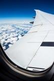 Samolotowa podróż Fotografia Stock