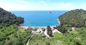 Antena strza? pi?kny nadmorski Adriatic krajobraz zbiory