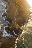 Antena strzał przylądka punkt afryce kanonkop słynnych góry do południowego malowniczego winnicę wiosna zdjęcie stock