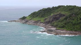 Antena strzelająca dzika tropikalna wyspa zbiory wideo