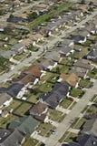 Antena suburbana da vizinhança Imagem de Stock
