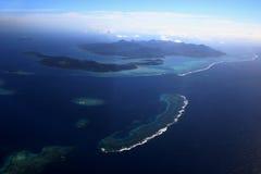 Antena três de Fiji Fotos de Stock