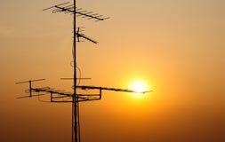 antena tv Obrazy Royalty Free