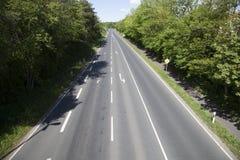 Antena ulica z strzała jako transportu symbol Obraz Stock