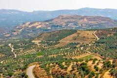 antena widok krajobrazowy wiejski Zdjęcie Royalty Free