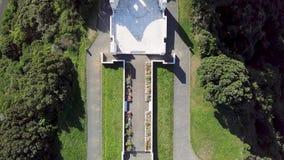 Antena, wierzchołka puszka Massey pomnik 4k widok zdjęcie wideo