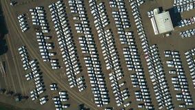 Antena wierzchołka puszka widok duży producenta samochodów magazyn Obrazy Stock