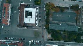 Antena wierzchołka puszka widok małe Niemieckie grodzkie ulicy zbiory