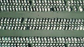 Antena wierzchołka puszka widok producenta samochodów magazyn Zdjęcia Stock