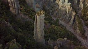 Antena Wyjawia, pinakiel formacja W Nowa Zelandia zdjęcie wideo