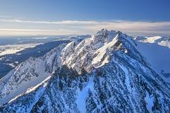 Antena Yellowstone Parkowy Elektryczny szczyt zdjęcie royalty free