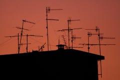 Antenas Fotografía de archivo
