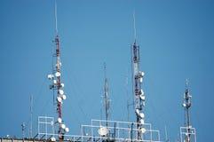 Antenas Fotografia de Stock