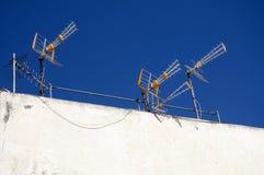 Antenas foto de stock royalty free