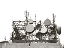 Antenas de la telecomunicación Imagenes de archivo