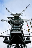 Antenas de radar Fotos de archivo