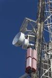 Antenas de uma comunicação celular Fotos de Stock Royalty Free