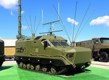 Antenas del vehículo militar Imagen de archivo