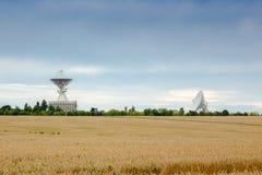 Antenas do obervatório Imagem de Stock