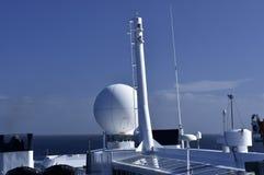 Antenas e equipamento de comunicação Imagem de Stock Royalty Free