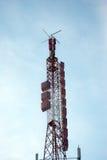 Antenas sem fio de rádio Fotografia de Stock