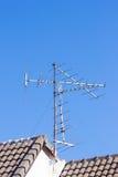 Antenn av den amatörmässiga radion Royaltyfri Fotografi