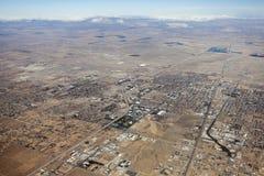 Lancaster Kalifornien antenn Royaltyfria Bilder