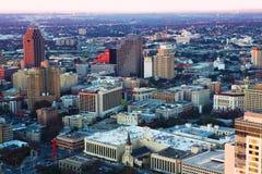 Antenn av San Antonio, Texas Fotografering för Bildbyråer