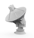 Antenn för satellit- maträtt Arkivfoton