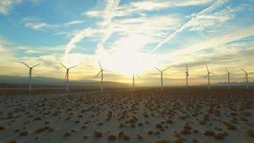 Antenn för vindturbin stock video