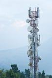 Antenn på den Phelri Nyingmapa kloster Arkivfoto