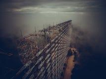 Antenn Tjernobyl royaltyfria bilder