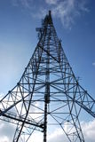 Antenna. Under a blue sky Royalty Free Stock Photo