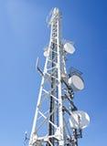 Antenna. Modern communications tower (berlin - germany Stock Photos