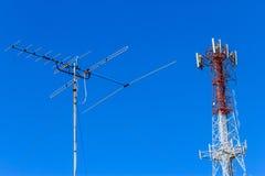 Antenna Fotografia Stock Libera da Diritti