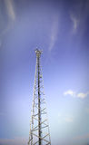 Antenna. On the blue sky Stock Images