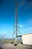 Antenna. On the blue sky Stock Image