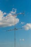 Antenna antiquata della televisione Immagine Stock