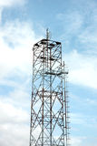 Antenna array telephone. Royalty Free Stock Image