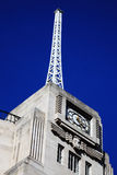 The antenna of the BBC Broadcasting House. Built in an Art Deco style in1932, in Regent Street, London, England, UK, which was the original headquarters of The Royalty Free Stock Image