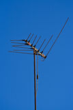 Antenna with blue sky Royalty Free Stock Photography