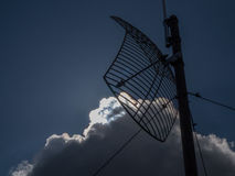 Antenna and blue sky Stock Photo