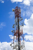 Antenna with blue sky Royalty Free Stock Images