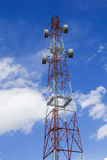 Antenna with blue sky Royalty Free Stock Photos