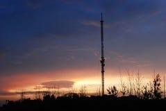 Antenna broadcast dvb-t signal Royalty Free Stock Photography