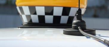 Antenna car taxi Stock Image