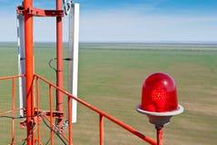 Antenna cellular base station Royalty Free Stock Photo