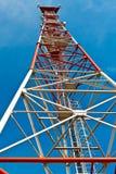 Antenna cellular base station Stock Photos