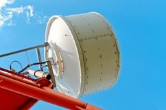 Antenna cellular base station Royalty Free Stock Photos