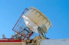 Antenna cellular base station Royalty Free Stock Images